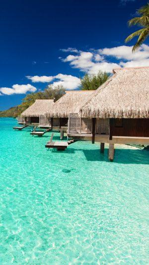 Maldives Tropical Bungalows Sky Wallpaper 1080x1920 300x533 - Nature Wallpapers