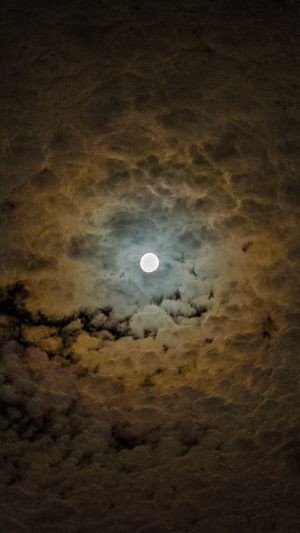 Moon Clouds Sky Night Wallpaper 1080x1920 300x533 - Nature Wallpapers