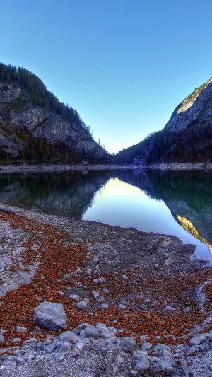 Mountain Lake Landscape Reflection Wallpaper 1080x1920 300x533 - Nature Wallpapers
