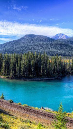 Mountain Lake Landscape Wallpaper 1080x1920 300x533 - Nature Wallpapers