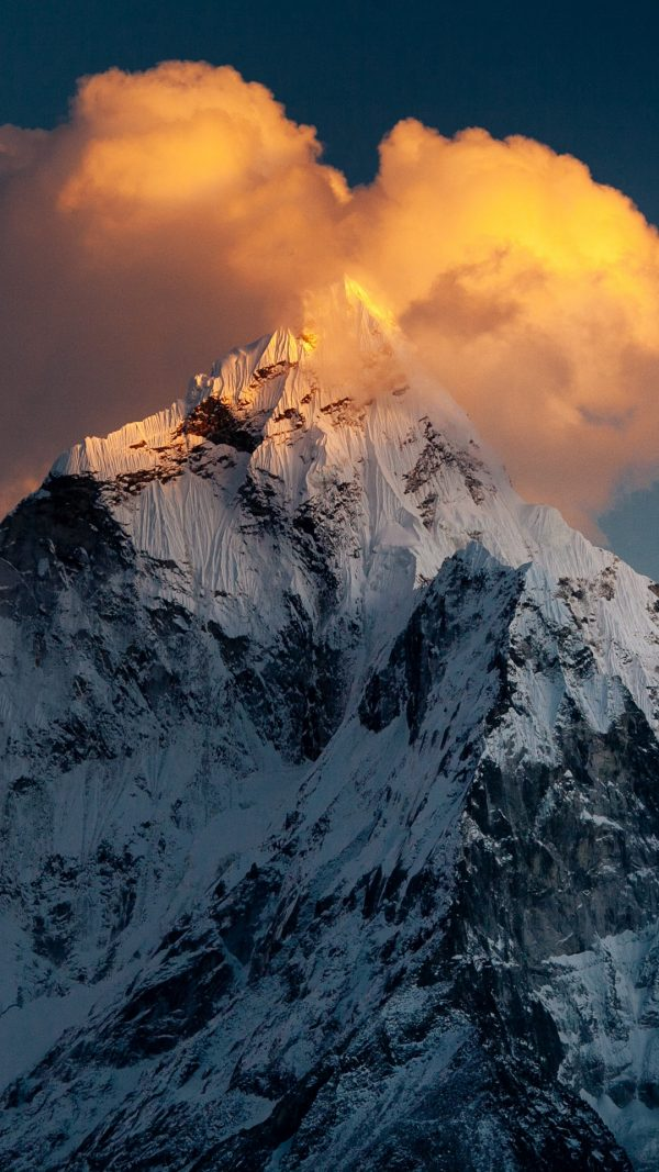 Mountain Top Snow Wallpaper 1080x1920 600x1067 - Mountain Top Snow Wallpaper - [1080x1920]