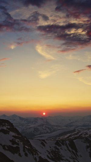 Mountains Cordillera Sky Sunset Sun Clouds Wallpaper 1080x1920 300x533 - Nature Wallpapers