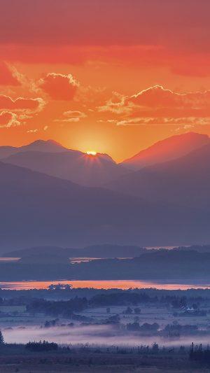Mountains Fog Sunset Wallpaper 1080x1920 300x533 - Nature Wallpapers