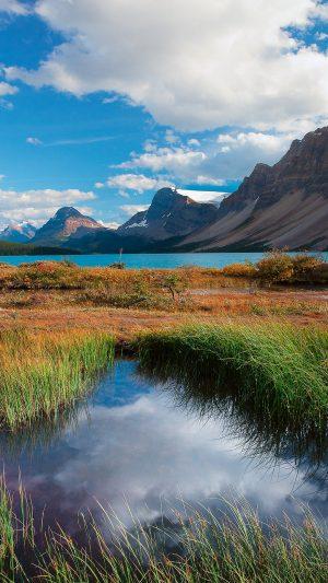 Mountains Grass Lake Wallpaper 1080x1920 300x533 - Nature Wallpapers