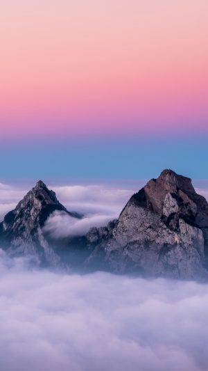 Mountains Peaks Clouds Wallpaper 1080x1920 300x533 - Nature Wallpapers