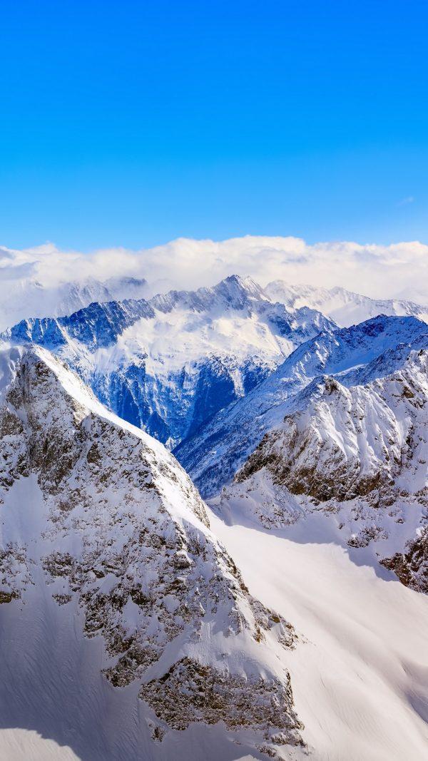 Mountains Winter Peaks Snow Wallpaper 1080x1920 600x1067 - Mountains Winter Peaks Snow Wallpaper - [1080x1920]