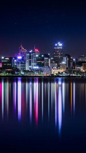 New Zealand Panorama Skyscrapers Buildings Lighting Wallpaper 1080x1920 300x533 - Nature Wallpapers