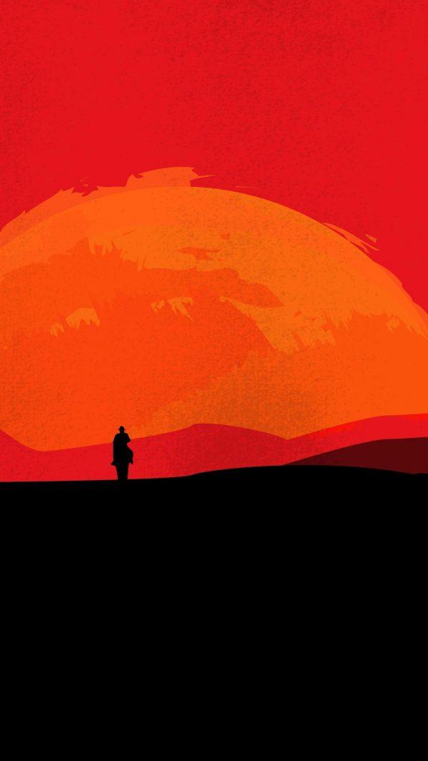 Night Minimal Background HD Wallpaper 600x1067 - Night Minimal Background HD Wallpaper