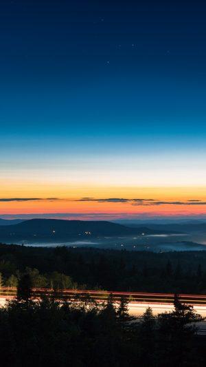 Night Sky Sunset Wallpaper 1080x1920 300x533 - Nature Wallpapers