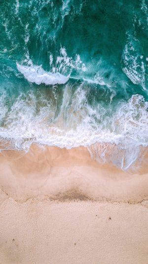 Ocean Aerial View Surf Wallpaper 1080x1920 300x533 - Nature Wallpapers