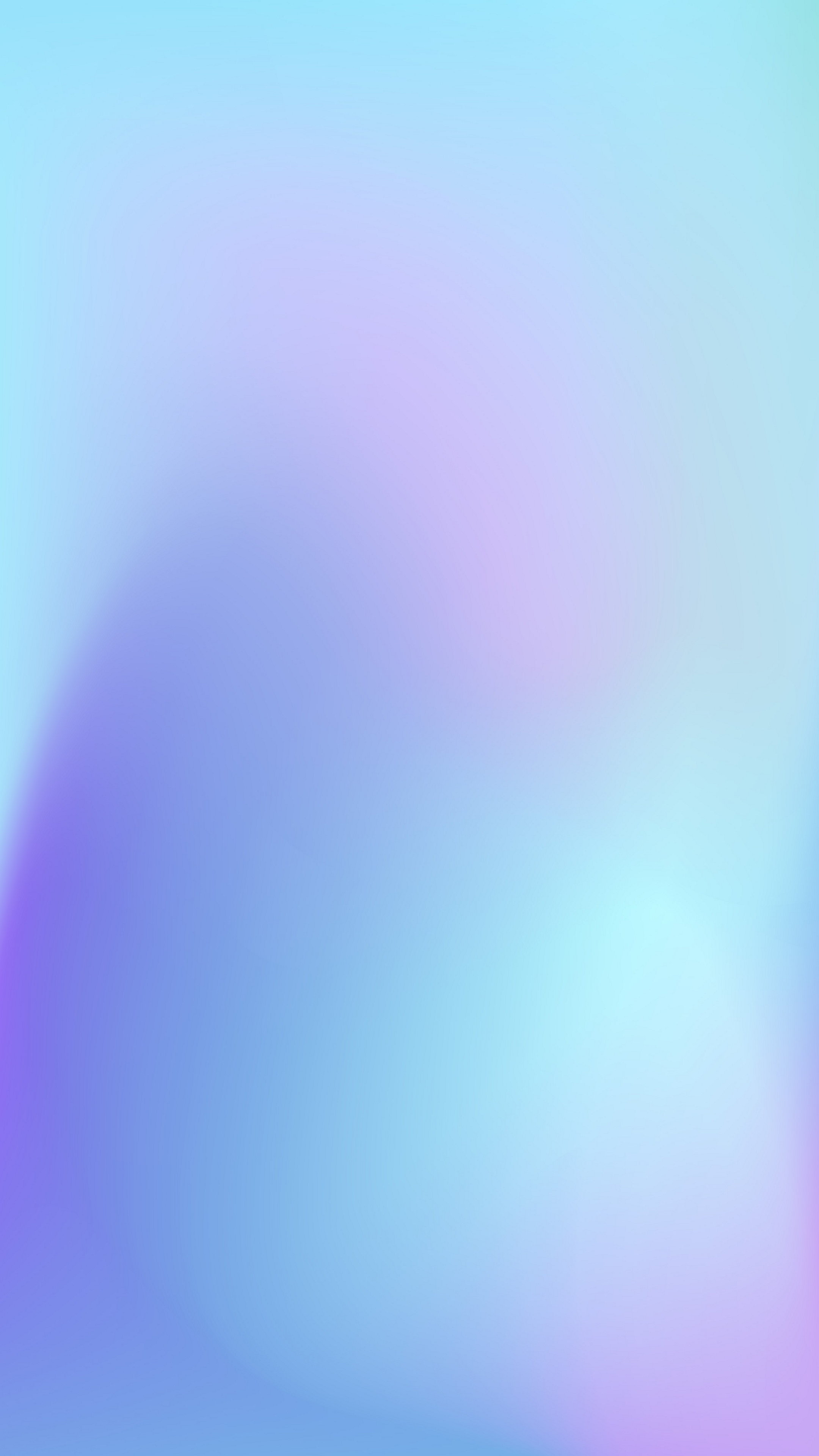 Pale Cornflower Blue Gradient Wallpaper