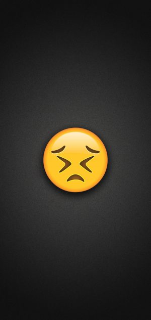 Persevering Face Emoji Phone Wallpaper 300x633 - Emoji Wallpapers