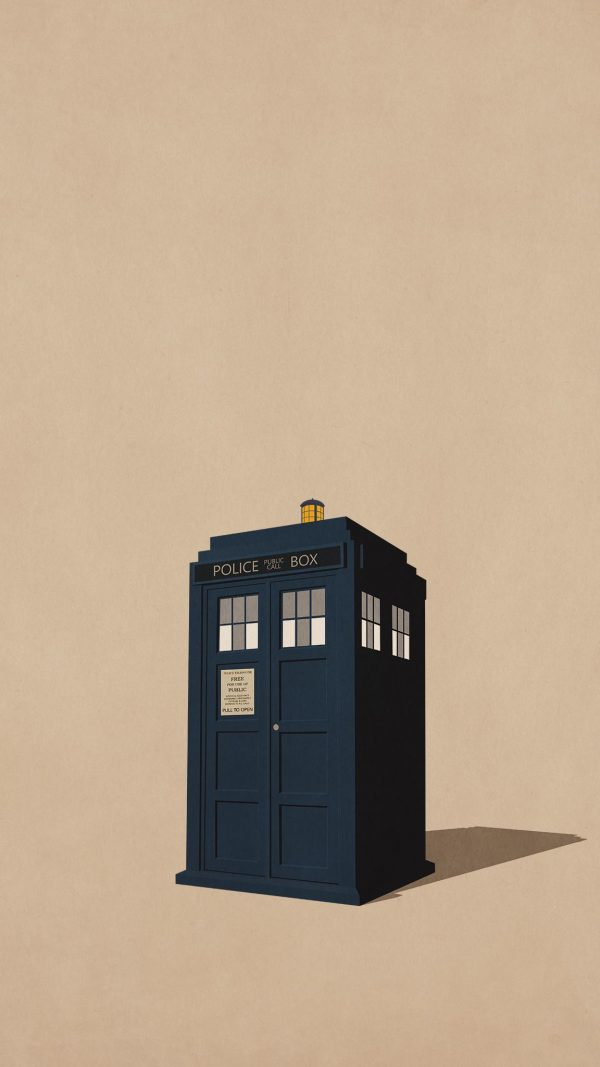 Phone Booth Minimal Background HD Wallpaper 600x1067 - Phone Booth Minimal Background HD Wallpaper