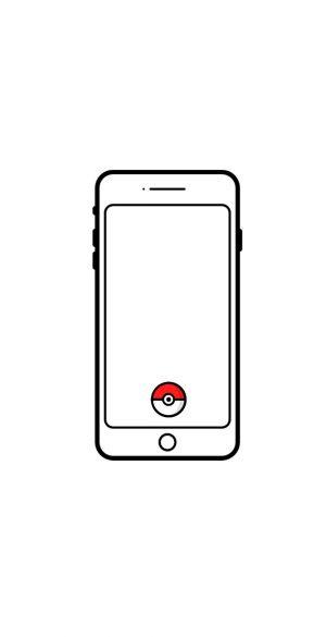 Pokemon Go White Phone Wallpaper 1080x2340  300x585 - White Wallpapers