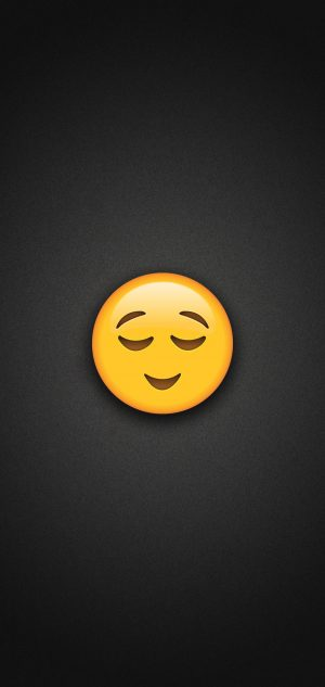 Relieved Emoji Phone Wallpaper 300x633 - Emoji Wallpapers