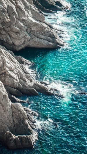 Rocks Sea Surf Wallpaper 1080x1920 300x533 - Nature Wallpapers