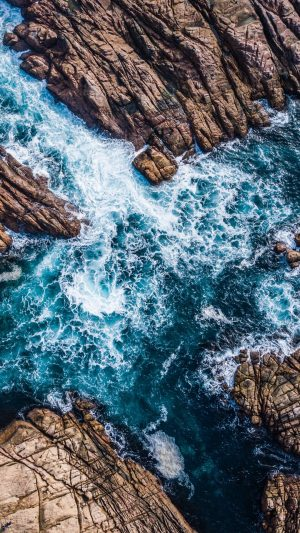 Rocks Surf Canal Wallpaper 1080x1920 300x533 - Nature Wallpapers