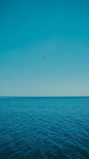 Sea Horizon Sky Wallpaper 1080x1920 300x533 - Nature Wallpapers