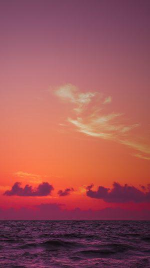 Sea Horizon Sunset Wallpaper 1080x1920 300x533 - Nature Wallpapers