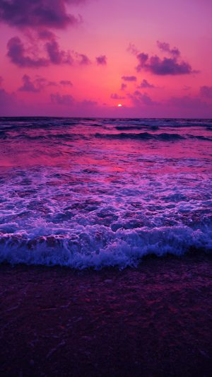 Sea Sunset Horizon Beach Wallpaper 1080x1920 300x533 - Nature iPhone Wallpapers
