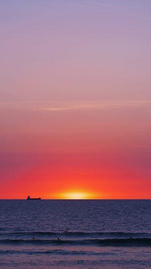 Sea Sunset Horizon View Wallpaper 1080x1920 300x533 - Nature Wallpapers