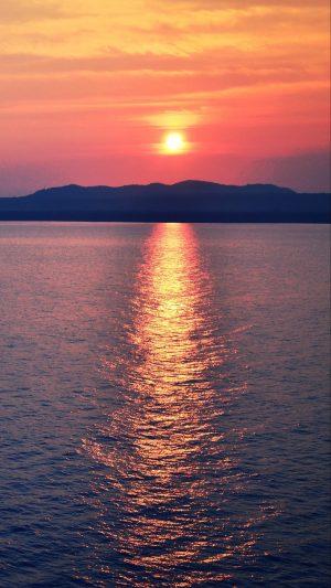 Sea Sunset Horizon Wallpaper 1080x1920 300x533 - Nature Wallpapers