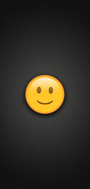 Slightly Smiling Face Emoji Phone Wallpaper 300x633 - Emoji Wallpapers