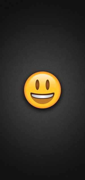Smiling Emoji with Eyes Opened Phone Wallpaper 300x633 - Emoji Wallpapers