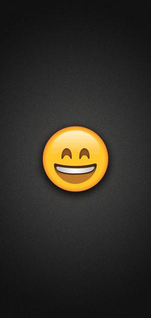 Smiling Emoji with Smiling Eyes Phone Wallpaper 300x633 - Emoji Wallpapers