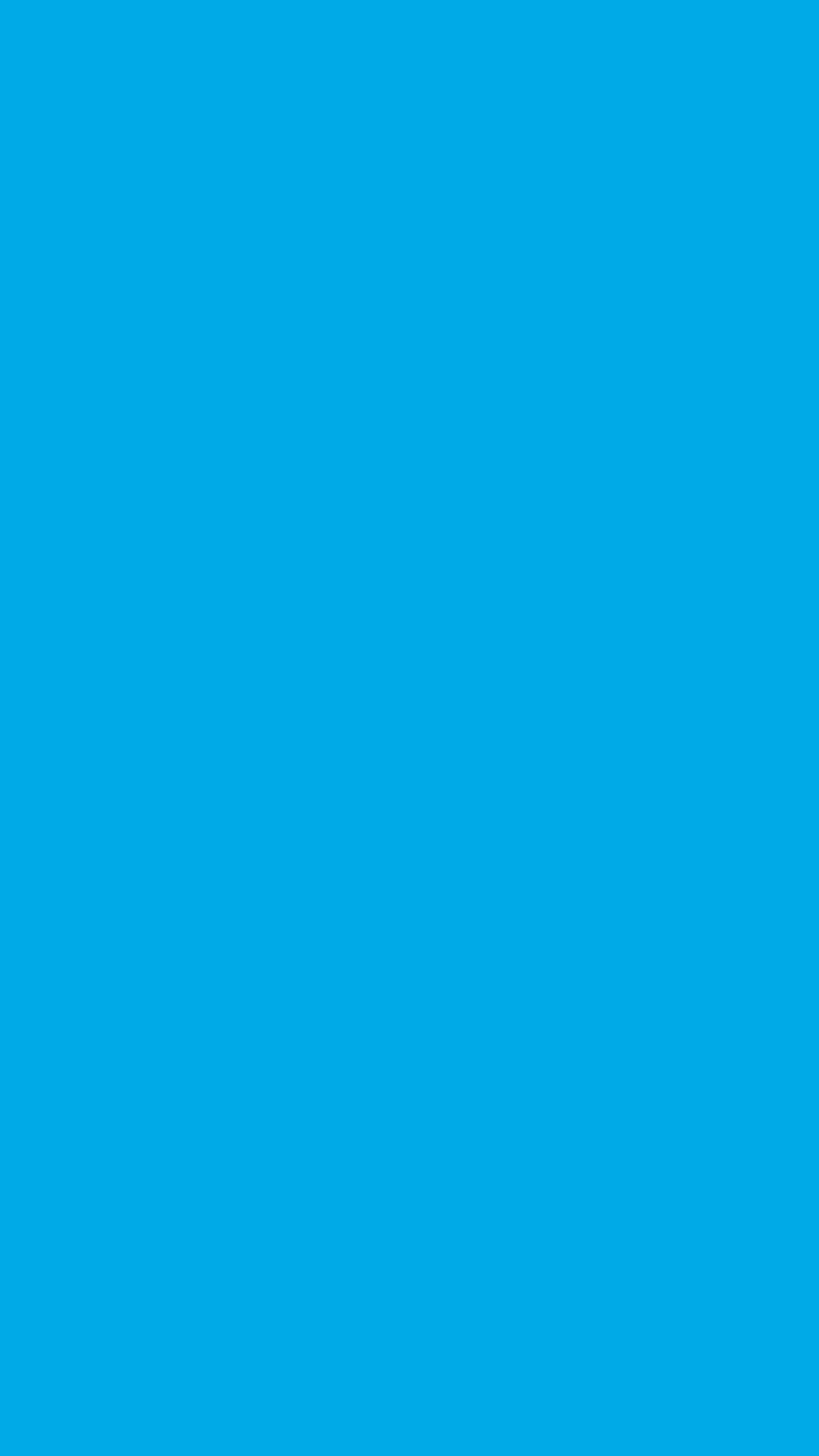 Spanish Sky Blue Solid Color Background Wallpaper For Mobile