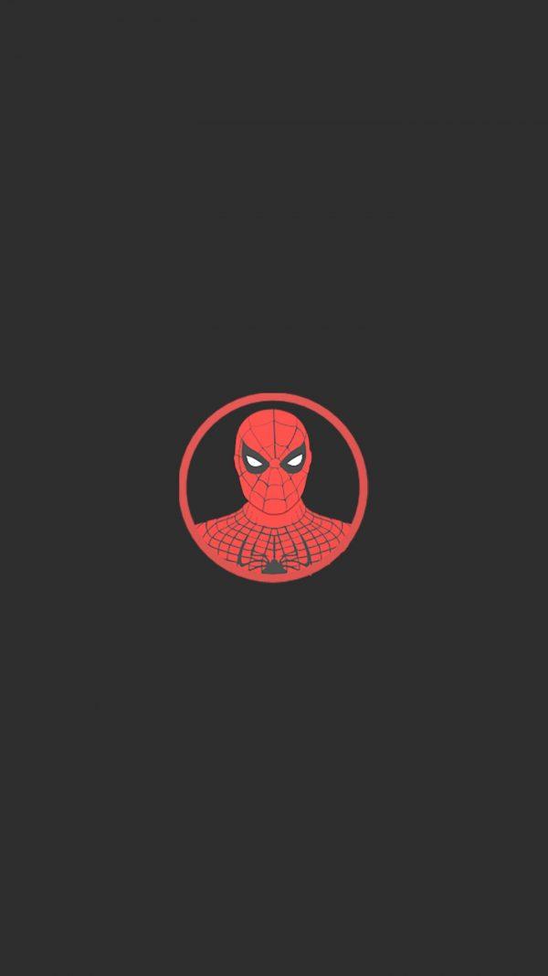 Spiderman Minimal Background HD Wallpaper 600x1067 - Spiderman Minimal Background HD Wallpaper