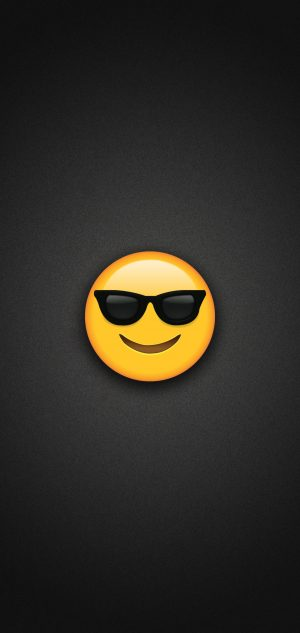 Sunglasses Emoji Phone Wallpaper 300x633 - Emoji Wallpapers
