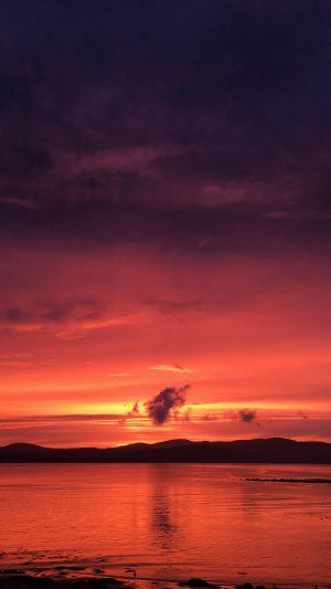 Sunset Horizon Bay Wallpaper 1080x1920 300x533 - Nature Wallpapers