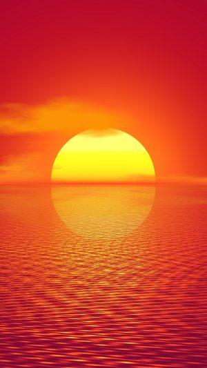 Sunset Horizon Sun Wallpaper 1080x1920 300x533 - Nature Wallpapers