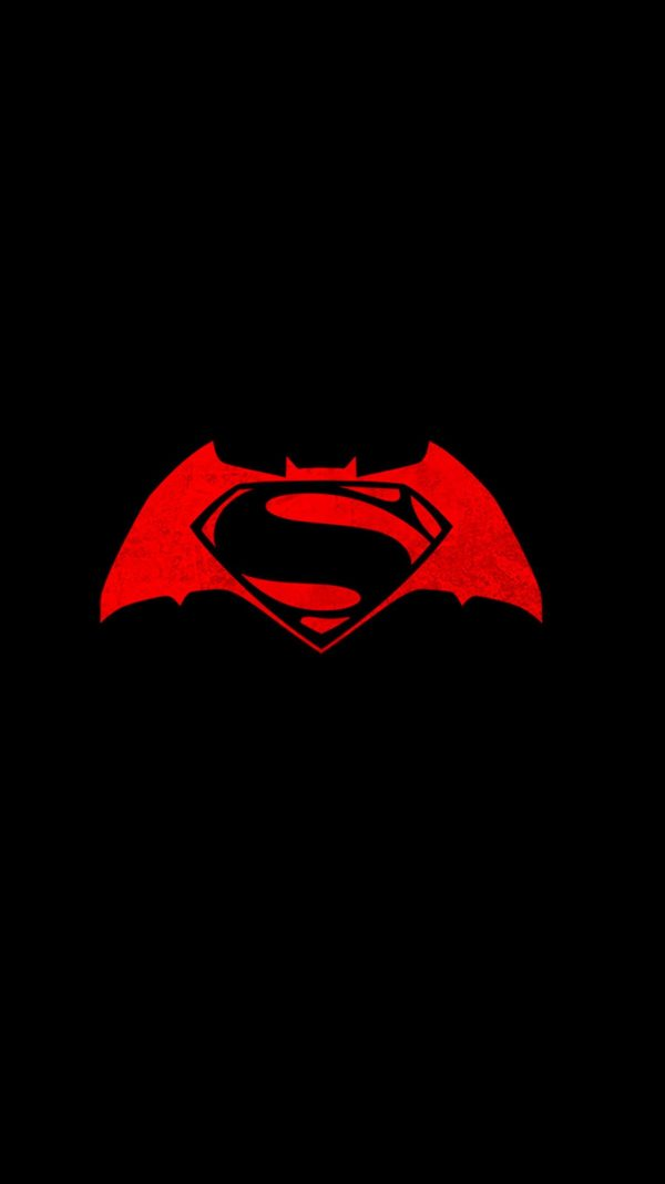 Superman Black Minimal Background HD Wallpaper 2 600x1067 - Superman Black Minimal Background HD Wallpaper (2)