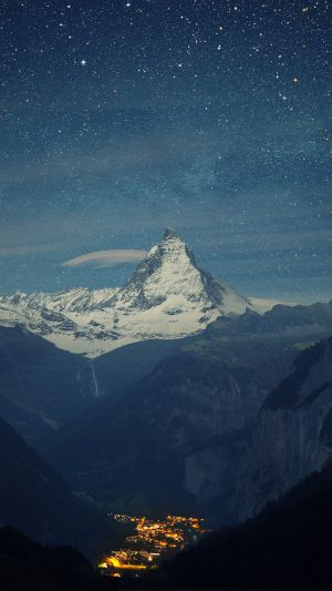 Switzerland Alps Mountains Night Beautiful Landscape Wallpaper 1080x1920 300x533 - Nature Wallpapers