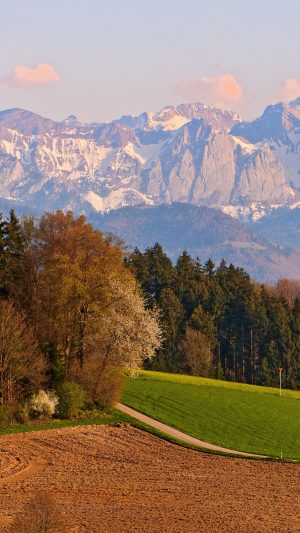 Switzerland Mountains Landscape Sky Autumn Wallpaper 1080x1920 300x533 - Nature Wallpapers