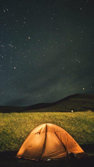 Tent Starry Sky Night Wallpaper 1080x1920 300x533 - Nature Wallpapers