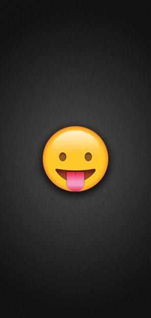 Tongue Out Emoji Phone Wallpaper 300x633 - Emoji Wallpapers