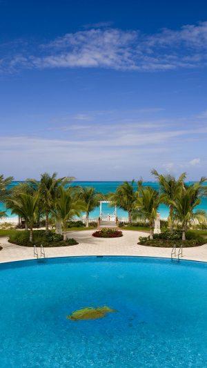Tropical Resort Palm Trees Summer Wallpaper 1080x1920 300x533 - Nature Wallpapers