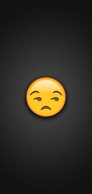 Unamused Face Emoji Phone Wallpaper 300x633 - Emoji Wallpapers