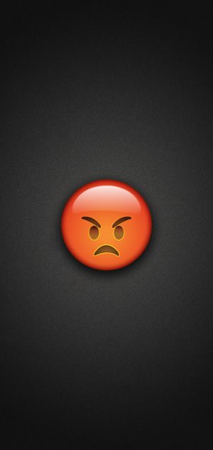Very Angry Emoji Phone Wallpaper 300x633 - Emoji Wallpapers