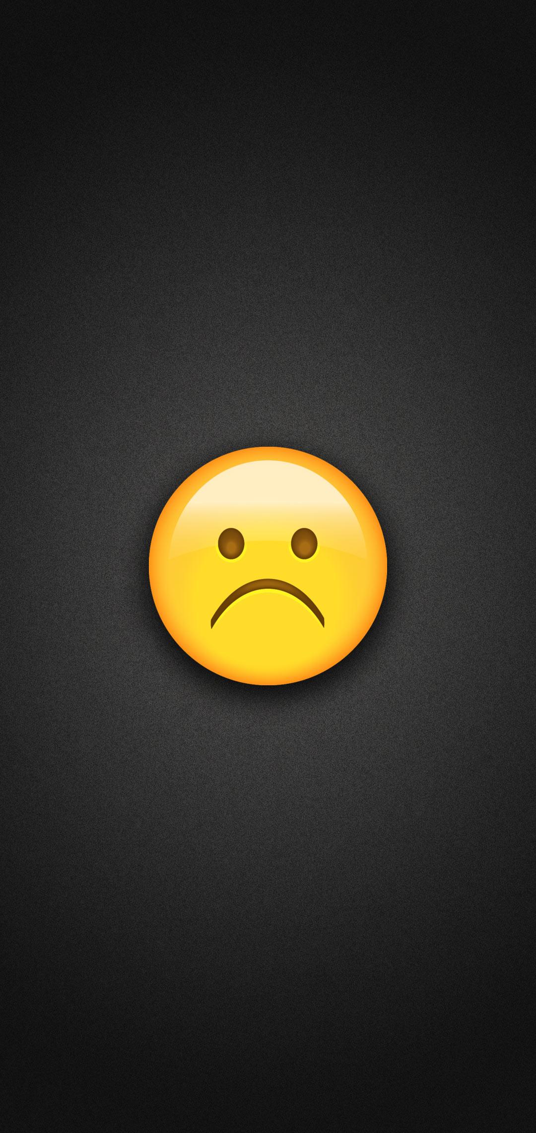 Download Wallpaper Emoji Sad HD
