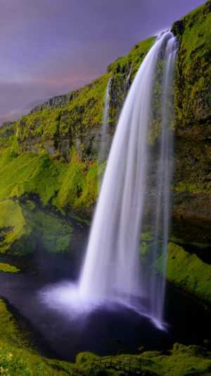 Waterfall Seljalandsfoss Iceland Wallpaper 1080x1920 300x533 - Nature iPhone Wallpapers