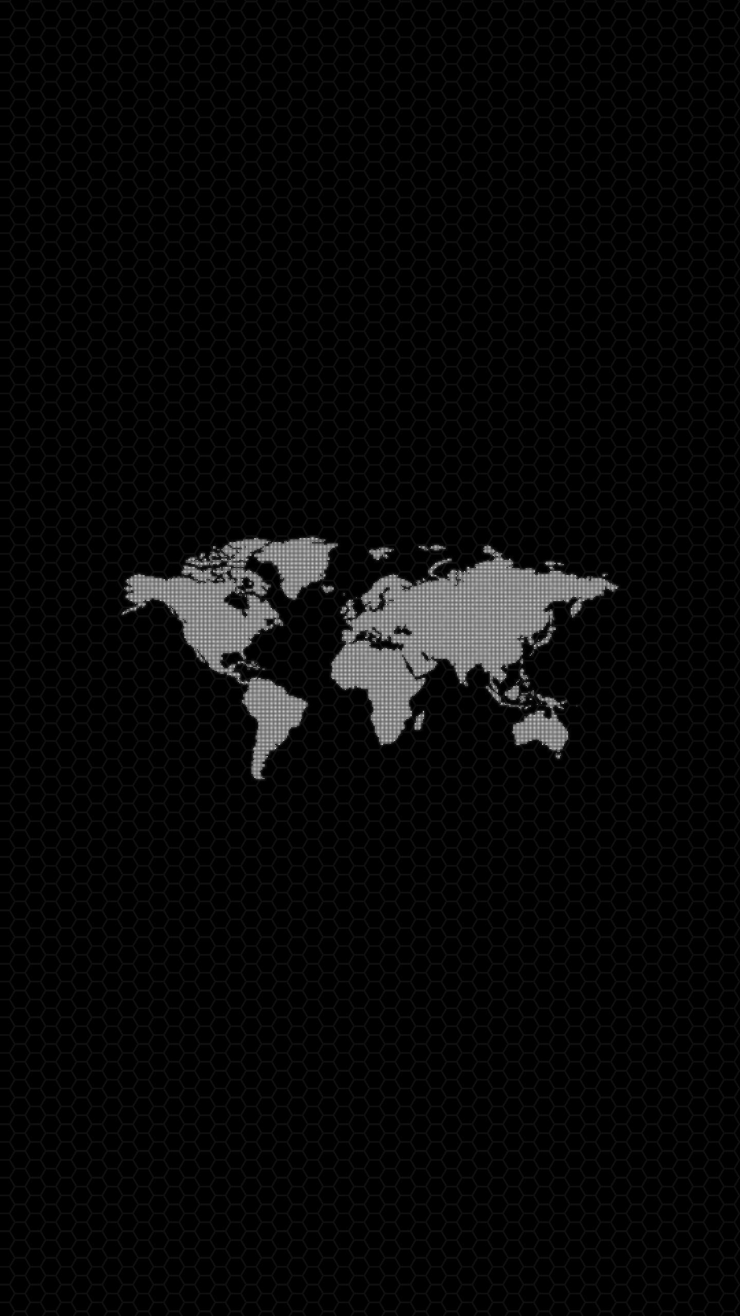 World Map Minimal Background HD Wallpaper