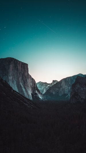 Yosemite Valley Mountains Night Wallpaper 1080x1920 300x533 - Nature Wallpapers